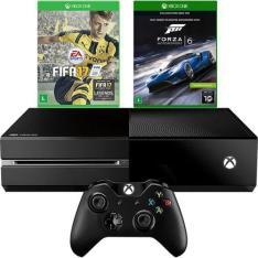 Console Xbox One 500gb + 2 jogos