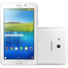 Tablet Samsung Galaxy Tab E T116 8GB Wi-Fi 3G- R$554,39