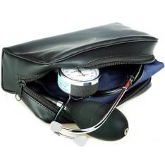 Medidor de Pressão Arterial Aneróide c/ Estetoscópio Premium - R$54,90