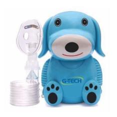 Inalador Nebulizador Nebdog Azul G-Tech Bivolt - R$102,87
