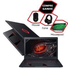 """Notebook Samsung Odyssey Intel Core i5 8GB (GeForce GTX 1050 de 4GB) 1TB Tela LED Full HD 15,6"""" Windows 10 - Preto 3.509 no boleto"""