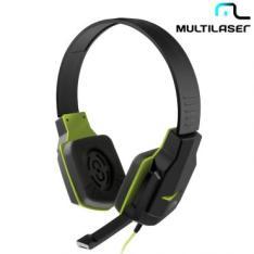 Headset Gamer Verde - Multilaser PH146 - R$34