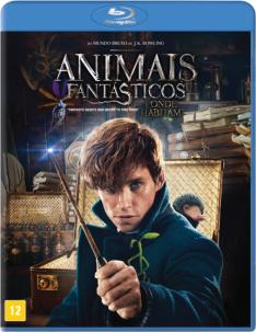 Animais Fantásticos e Onde Habitam - Capa Exclusiva - Blu-Ray - R$22