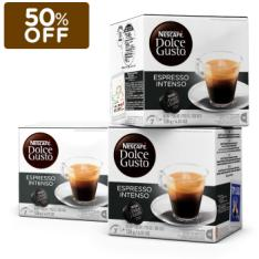Combo 3 Caixas Nescafé Dolce Gusto Espresso Intenso - R$33,30
