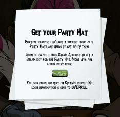 [STEAM] [DLC] Payday 2 -Hoxton housewarming party hat DLC Grátis