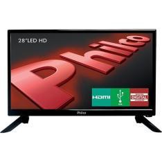 "TV LED 28"" Philco PH28N91D HD com Conversor Digital - R$721,11"