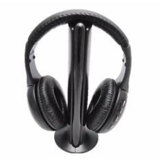 Fone De Ouvido Sem Fio Wireless 5 Em 1 Com Rádio Fm - Mh2001 por R$ 38