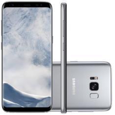 """Smartphone Samsung Galaxy S8 Prata 5.8"""" Câmera de 12MP 64GB Octa Core e 4GB de RAM POR R$ 2991"""
