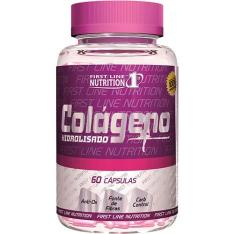 Colágeno 60 Cápsulas - First Line Nutrition- R$30