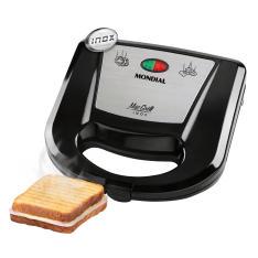 Sanduicheira e Grill Mondial Mac Inox S-11 por R$ 25