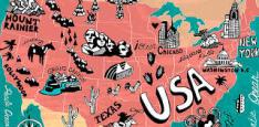 Voos: vários destinos nos Estados Unidos, com saídas de 10 cidades brasileiras. A partir de R$1.712, ida e volta, com taxas incluídas!