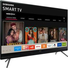 """Smart TV LED 40"""" Samsung 40K5300 Full HD com Conversor Digital Integrado Wi-Fi 2 HDMI 1 USB com Tizen Gamefly Áudio Frontal - POR R$ 1530. 1x CARTÃO"""