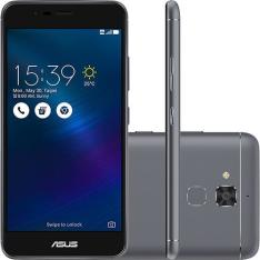 Smartphone Asus Zenfone 3 max dual chip android 6  Tela 5.2'' 16GB 4G câmera 13MP-Cinza escuro R$787