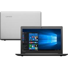 """Notebook Lenovo Ideapad 310 Intel Core i3-6006u 4GB 1TB Tela 15"""" LED Windows 10 -Prata por R$ 1377"""