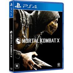 Game Mortal Kombat X - PS4 - Por R$ 79,99