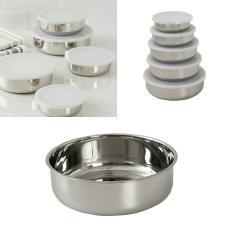 Conjunto de Potes Inox 5 Peças - La Cuisine - R$ 50