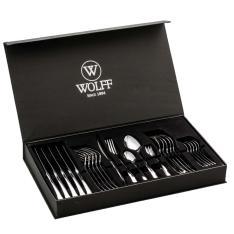 Faqueiro Wolff Berna 70019 - 30 peças - R$123