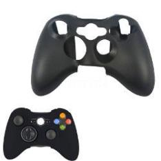 Case Capa De Silicone Para Controle Xbox 360 - Preto R$ 1,99