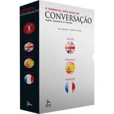 Box  - O Essencial dos Guias de Conversação (3 Volumes) - R$15