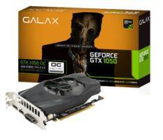 Placa de vídeo GTX 1050 2GB GALAX 2Gb Oc Ddr5 128 Bits - R$499