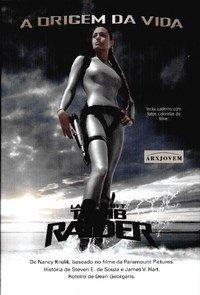 Livro Lara Croft - Tomb Raider - A Origem da Vida - R$3,90