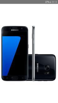 "Smartphone Samsung Galaxy S7 Android 6.0 Tela 5.1"" 32GB 4G Câmera 12MP - Preto - R$1.799"