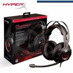 Headset HyperX Revólver + mouse HyperX pulsefire grátis