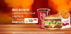 PROMOÇÃO TRIO BIG BOB M POR R$ 18,00