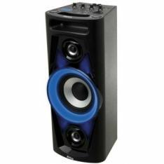 [Ela voltou!]Caixa Acústica Philco PHT3000 - 100W Bluetooth, Dual USB, Rádio FM, Entrada para Guitarra e Auxiliar, Bateria com autonomia de até 4h