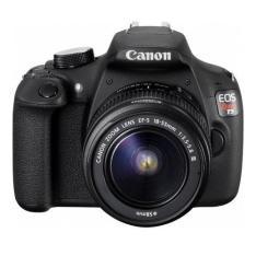 Câmera Digital DSLR Canon EOS Rebel T5 18MP + Lente EF-S18-55mm III - Preta - R$1295