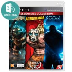 3 em 1 Mídia Fisica PS3 Bioshock, Borderlands e XCOM Enemy Unknown - Por R$ 39,90