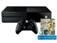 Xbox One 500GB Microsoft 1 Controle - Jogo Fifa 17 + 1 Mês de EA Access - R$ 970,97