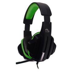 Headset Gamer Multilaser P2/Cabo Nylon Verde - PH123 - R$55