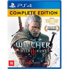 The Witcher III edição completa Ps4 - R$85