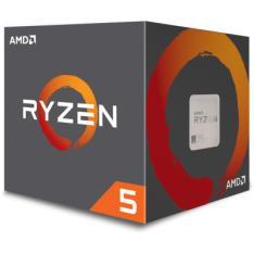 PROCESSADOR AMD RYZEN 5 1400 3.2GHZ / 3.4GHZ MAX TURBO YD1400BBAEBOX QUAD CORE 8MB AM4 COOLER WRAITH STEALTH - R$521