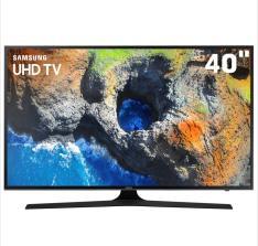 "Smart TV LED 40"" UHD 4K Samsung 40MU6100- R$ 1890"