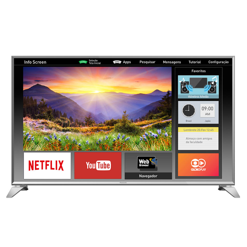 smart tv led 49 panasonic tc 49es630b full hd 3 hdmi 2. Black Bedroom Furniture Sets. Home Design Ideas