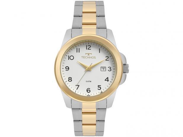 Relógio Masculino Technos Analógico - Resistente à Água Steel 2115MQH 5B  por R  150   Pelando c0ca9cf772