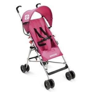 Carrinho De Bebê Guarda-chuva Weego Way Rosa - Bb508 por R$ 130