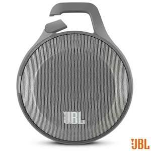 Caixa de Som JBL Clip por R$222 -  3,3 W de Potência, Conexão Bluetooth 3.0 e Entrada Auxiliar
