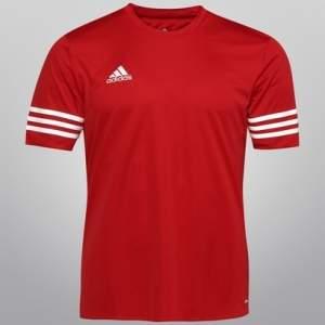 Camisa Adidas Entrada 14 na Cor Vermelha por R$28