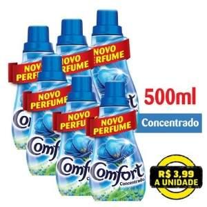 Voltou- [Extra ]Kit com 6 Comfort Concentrado - 500ml por R$ 22