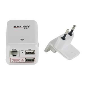 [KABUM] Roteador Opticom AirLan 817 150 Mbps 3G Multi Função Portátil por R$ 53