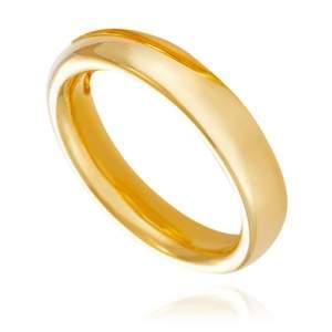 [VIVARA] Par de Alianças em Ouro Amarelo e imã Atração por R$ 690