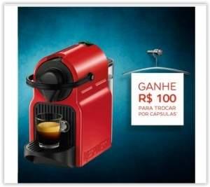 [RICARDO ELETRO] Máquina de Café Espresso Inissia Automática Ruby Red 19 Bar de Pressão C40 por R$ 251