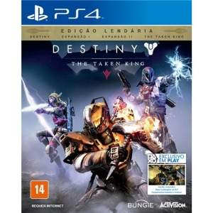 [Extra] Jogo Destiny: The Taken King - Edição Lendária - PS4 por R$ 171