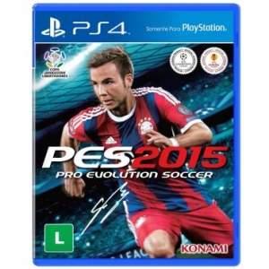 [Ricardo Eletro] Game Pro Evolution Soccer 2015 por R$40 - Playstation 4
