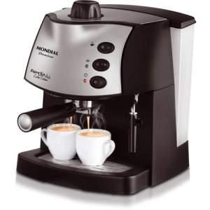 [Americanas] Cafeteira Expresso Mondial Espresso Coffee Cream C-08 Preta 15 Bar por R$ 200