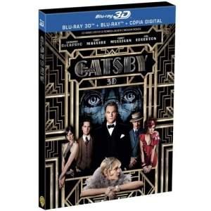 [Extra] Blu-Ray 3D + Blu-Ray + Cópia Digital - O Grande Gatsby por R$28