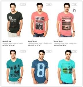 [Dafiti] Leve 4 camisetas e pague 3! Cada uma sai por R$ 14